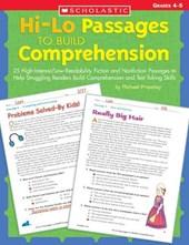 Hi-Lo Passages To Build Comprehension, Grades 4-5