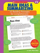 Main Ideas & Summarizing | Linda Ward Beech |