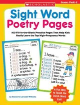 Sight Word Poetry Pages | Rozanne Lanczak Williams |