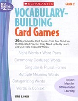 Vocabulary-Building Card Games | Liane Onish |