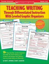 Teaching Writing Through Differentiated Instruction With Leveled Graphic Organizers