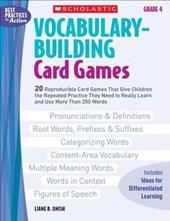 Vocabulary-Building Card Games, Grade