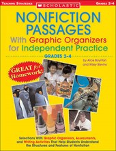 Nonfiction Passages with Graphic Organizers for Independent Practice