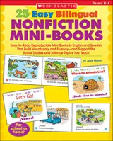 25 Easy Bilingual Nonfiction Mini-Books | Judy Nayer |
