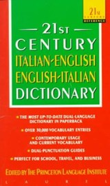 21st Century Italian-English English-Italian Dictionary | auteur onbekend |