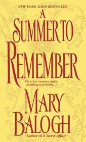 A Summer to Remember: A Bedwyn Family Novel