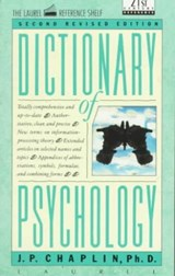 Dictionary of Psychology | J. P. Chaplin |