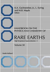Handbook on the Physics and Chemistry of Rare Earths | Karl A. Gschneidner |
