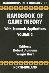 Handbook of Game Theory With Economic Applications | auteur onbekend |