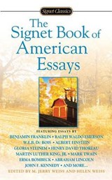 The Signet Book of American Essays | auteur onbekend |