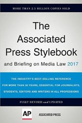 Associated Press Stylebook 2017