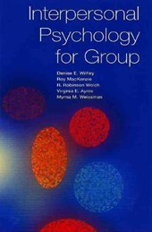 Interpersonal Psychotherapy for Group