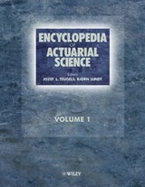 Encyclopedia of Actuarial Science | Jozef Teugels |