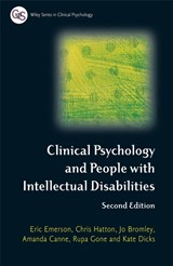 Clinical Psychology and People with Intellectual Disabilities | Eric Emerson |