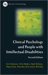 Clinical Psychology and People with Intellectual Disabilitie | Eric Emerson |