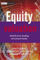 Equity Valuation | Jan Viebig |
