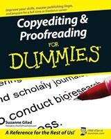 Copyediting and Proofreading For Dummies | Suzanne Gilad |