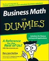Business Math For Dummies | Mary Jane Sterling |
