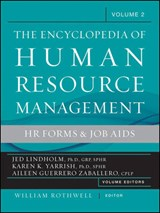 The Encyclopedia of Human Resource Management, Volume | Jed Lindholm |