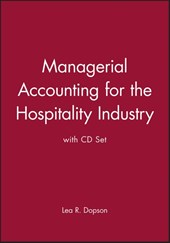 Managerial Accounting for the Hospitality Industry with CD Set