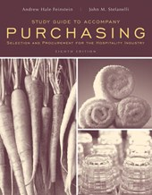 Study Guide to accompany Purchasing: Selection and Procurment for the Hospitality Industry,