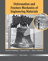 Deformation and Fracture Mechanics of Engineering Materials | Richard W. Hertzberg |