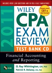 Wiley CPA Exam Review 2011 Test Bank CD | Patrick R. Delaney |