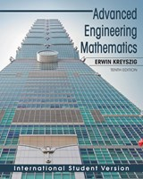 Advanced Engineering Mathematics | Erwin Kreyszig |