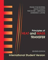 Principles of Heat and Mass Transfer | Frank P. Incropera |