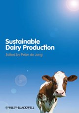 Sustainable Dairy Production | Peter De Jong |