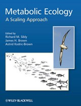 Metabolic Ecology | Richard M. Sibly |