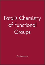 PATAI'S Chemistry of Functional Groups | Zvi Z. Rappoport |