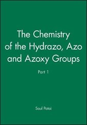 The Chemistry of the Hydrazo, Azo and Azoxy Groups, Part