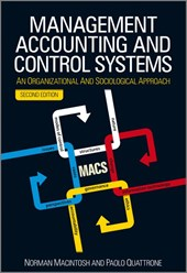 Management Accounting and Control Systems | Norman B. Macintosh |