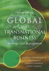 Global and Transnational Business | George Stonehouse |