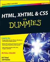 HTML, XHTML and CSS For Dummies | Ed Tittel |