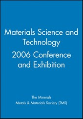 Materials Science and Technology 2006 Conference and Exhibition |  |