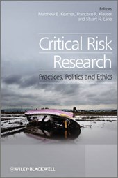 Critical Risk Research | Stuart Lane |