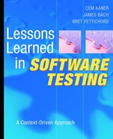 Lessons Learned in Software Testing | Cem Kaner |