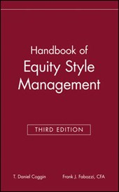 The Handbook of Equity Style Management