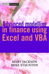 Advanced Modelling in Finance using Excel and VBA | Mary Jackson |