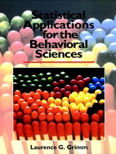 Statistical Applications for the Behavioral Sciences | Laurence G. Grimm |