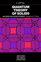 Quantum Theory of Solids | Charles Kittel & Ching-yao Fong |