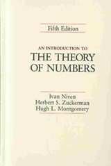 An Introduction to the Theory of Numbers | Ivan Niven |