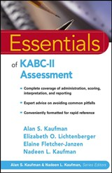 Essentials of KABC-II Assessment | Alan S. Kaufman |