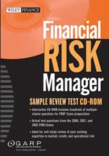 Financial Risk Manager Sample Review Test CD-ROM | auteur onbekend |