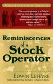 Reminiscences of a Stock Operator | Edwin Lef Vre |