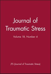 Journal of Traumatic Stress, Volume 18, Number