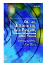 One- and Multidimensional Signal Processing | Hartmut Schröder |