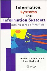 Information, Systems and Information Systems | Peter Checkland |